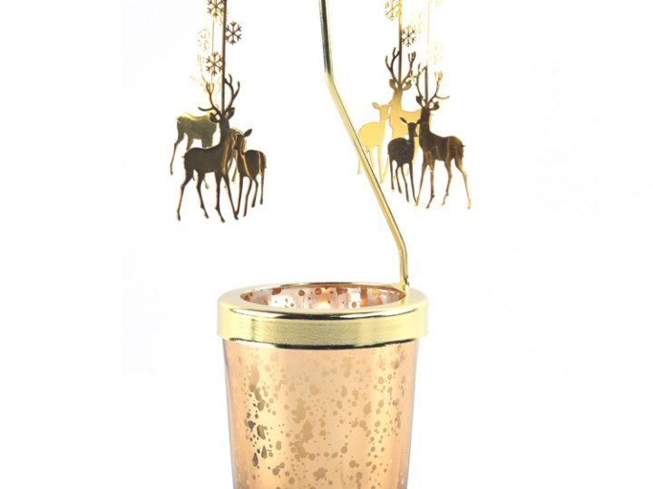 Candle Carousels Gift (Horse/Fairy Angel/Snowflake/Reindeer/Cat/Unicorn)